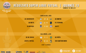 SUPER LIGUE FUTSAL 2020