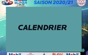 CALENDRIER Saison 2020 MOBIL SUPER LIGUE