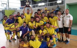 L'ASPTT Champion de Calédonie FUTSAL 2020 / Super Ligue Futsal - Classement final