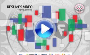 Résumés VIDEO + le plus beau But et Arrêt / SUPER LIGUE J18 / FCF TV web