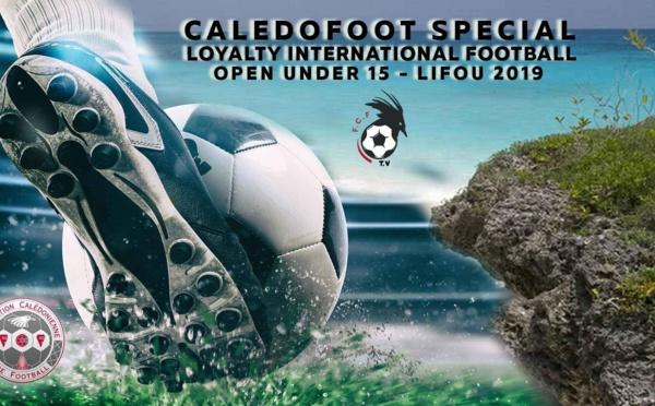 CALEDOFOOT n°20 - Spécial Tournoi International U15 à LIFOU / VIDEO