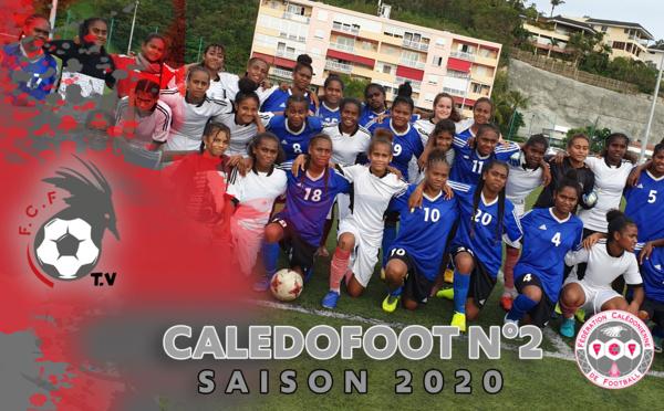 CALEDOFOOT n°2 : spécial ACADEMIE fédérale - Football FEMININ / VIDEO