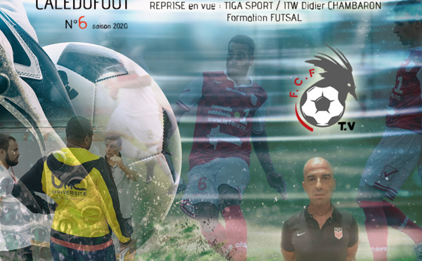 CALEDOFOOT n°6 : Tiga Sport - ITW Didier Chambaron - Formation Futsal / VIDEO