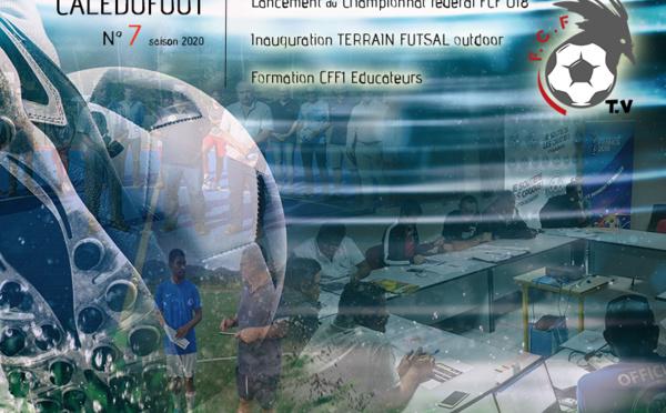 CALEDOFOOT n°7 : Championnat U18 - Terrain Futsal outdoor - Formation CFF1 / VIDEO