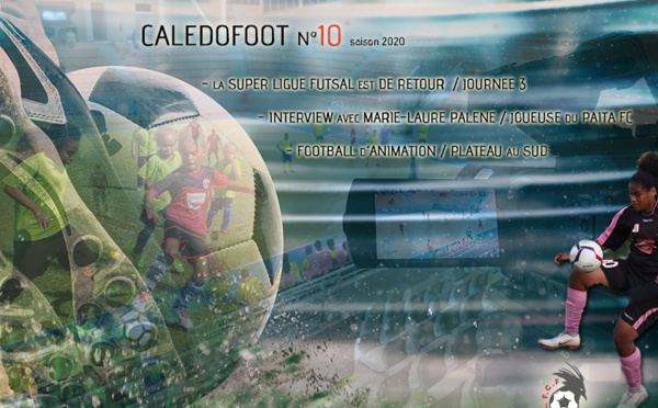 CALEDOFOOT n°10 : Super Ligue Futsal - ITW Marie Laure PALENE - Foot d'Animation / VIDEO