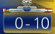 NOUVELLE-CALEDONIE vs TAHITI : 0 - 10 / Beach Soccer