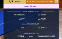 Quarts de finale FUTSAL / Tirage + Programme SUPER LIGUE J12