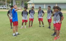 Une tournée à Poindimié pleine d'apprentissage / Sélection U16 de Calédonie (préparation)