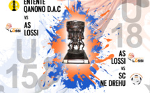 FINALES U15 et U18 / Coupe de Calédonie JEUNES - ce samedi 21 novembre