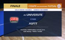 Le FUTSAL à la fête  / Finale de Coupe de Calédonie + Festival territorial U13