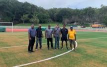 """Le """"nouveau"""" Stade HNASSE homologué (FCF) / Lifou, Province Iles Loyauté"""