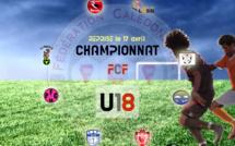 Le Championnat FCF U18 reprendra aussi le 17 avril / Programme