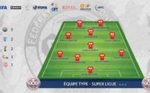 Le ONZE TYPE cagou de Super Ligue (J1-18)